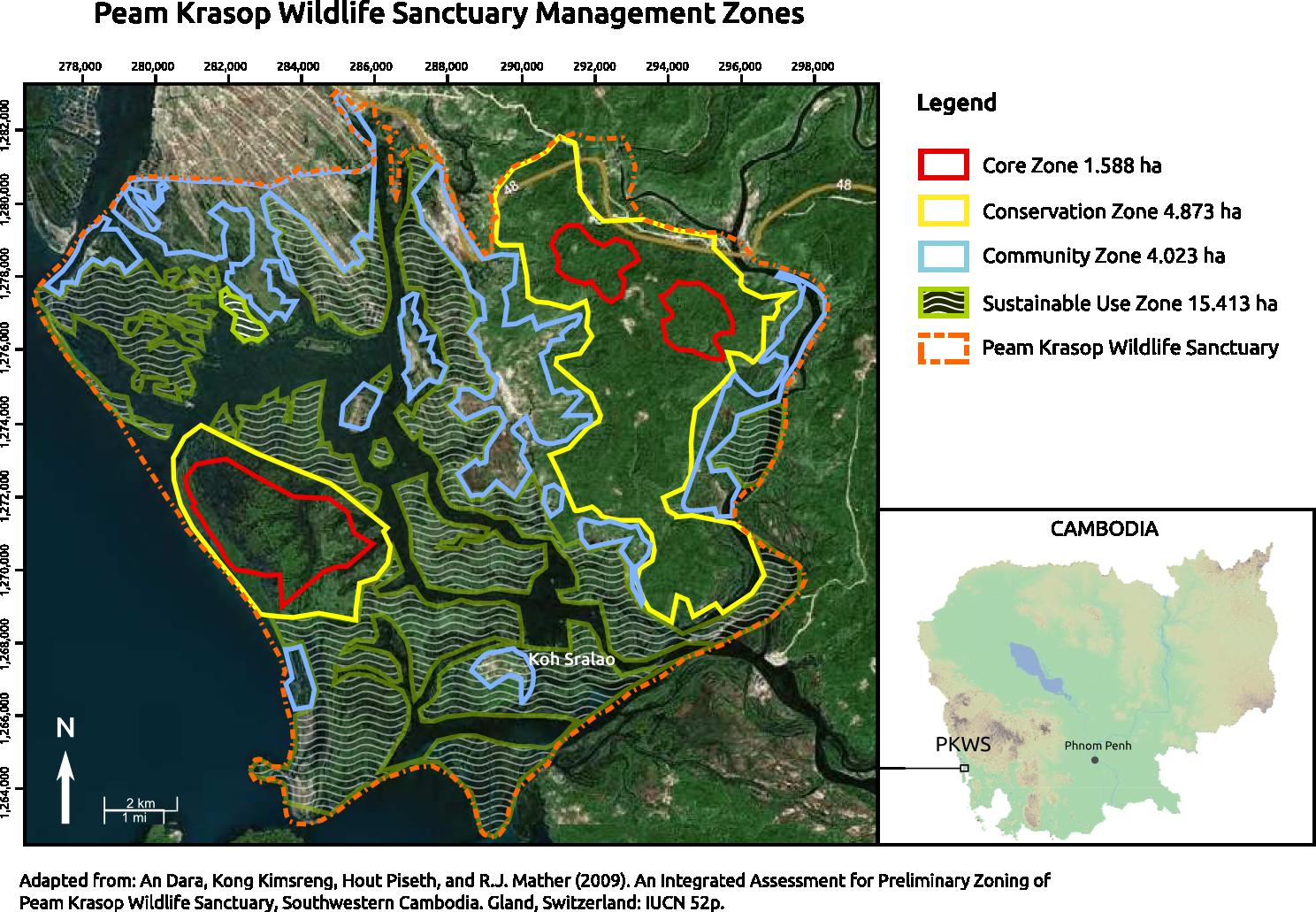 Map PKWS