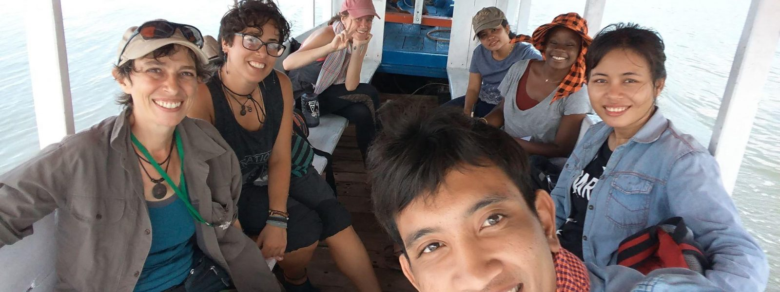 November field trip team Kla Trey Cambodian Fishing Cat Project